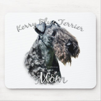 Kerry Blue Terrier Mom 2 Mouse Pad