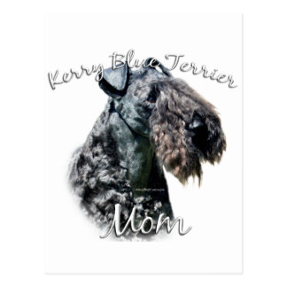 Kerry Blue Terrier Mom 2 Postcard