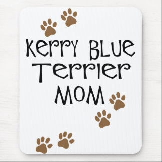 Kerry Blue Terrier Mom Mouse Pad
