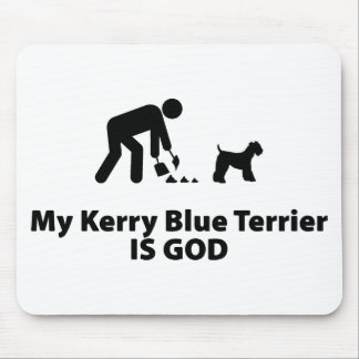 Kerry Blue Terrier Mouse Pad