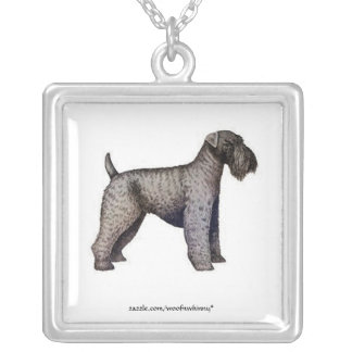 Kerry Blue Terrier Custom Necklace