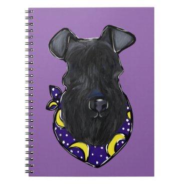 Halloween Themed Kerry Blue Terrier Notebook