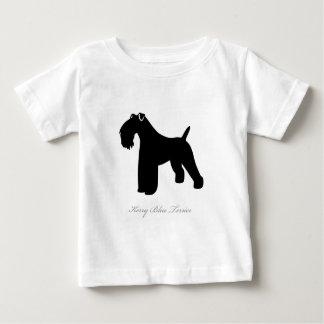 Kerry Blue Terrier silhouette Tees