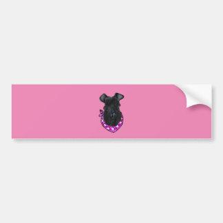 Kerry Blue Terrier Valentine Bumper Sticker