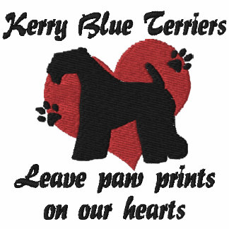 Kerry Blue Terriers Leave Paw Prints