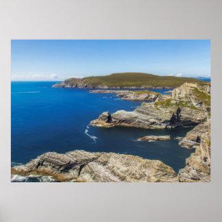 Kerry Cliffs en Irlanda