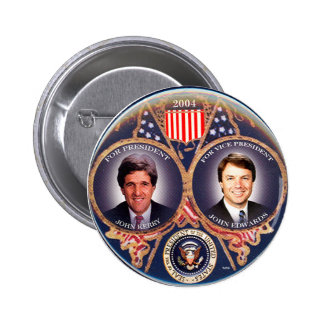 Kerry-Edwards jugate - Button