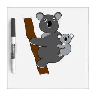 """""""Kerry"""" la koala Pizarras Blancas De Calidad"""
