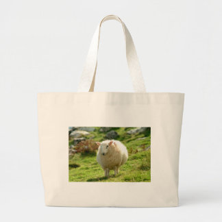 Kerry Sheep on Ring of Kerry Large Tote Bag