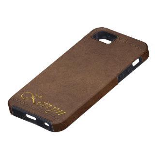 KERRYN Leather-look Customised Phone Case