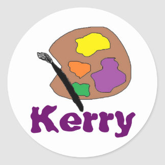 Kerry's Paint palet stickers