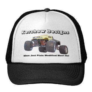Kershaw diseña los coches controlados de radio de  gorras de camionero