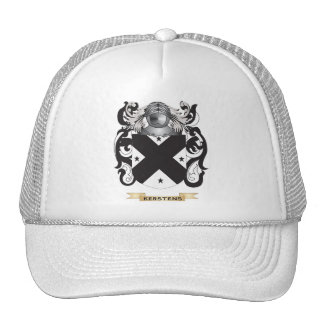 Kerstens Coat of Arms (Family Crest) Mesh Hat