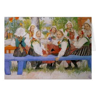 Kersti's Birthday 1909 Card