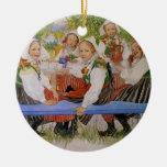 Kersti's Birthday 1909 Christmas Ornament