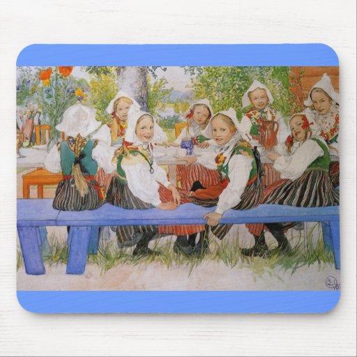 Kersti's Birthday 1909 Mouse Pad