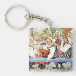 Kersti's Birthday Party Keychain