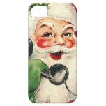 Kerstman bij de Telefoon iPhone 5 Cases