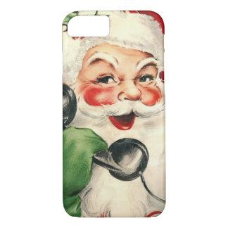 Kerstman bij de Telefoon iPhone 7 Case