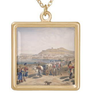 Kertch from the North, plate from 'The Seat of War Gold Plated Necklace