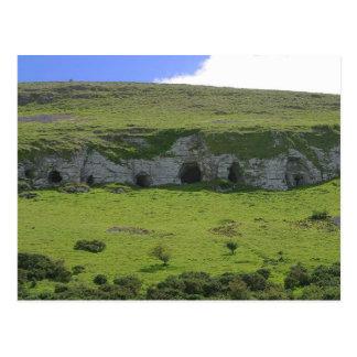 Keshcorran Caves Cliffs Postcard