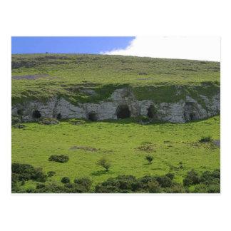 Keshcorran caves postcard