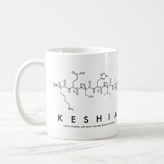 Keshia peptide name mug
