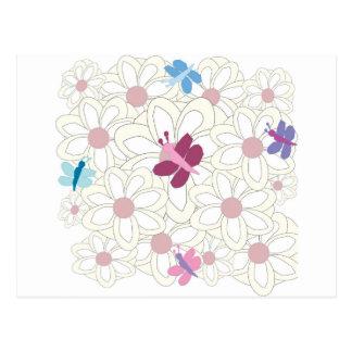 KESS floral Postales