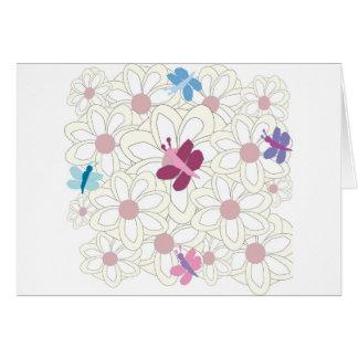KESS floral Tarjeta De Felicitación