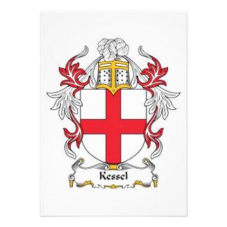 Kessel Family Crest Cards