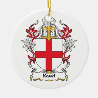 Kessel Family Crest Ceramic Ornament