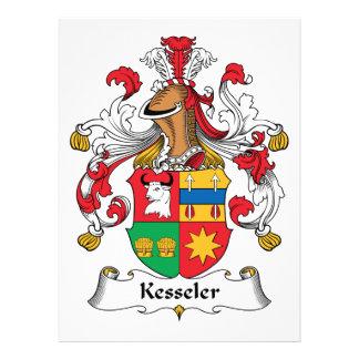 Kesseler Family Crest Custom Invitations