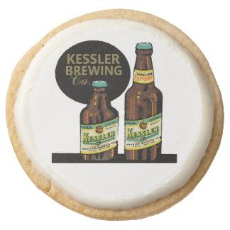 Kessler Export Beer Round Shortbread Cookie