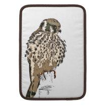 Kestral Bird Wildlife Animals Raptor Wetlands MacBook Air Sleeve