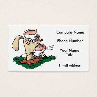 Kestrel and Rabbit Business Card