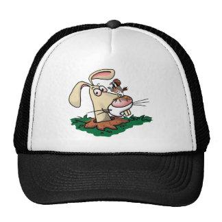 Kestrel and Rabbit Hat