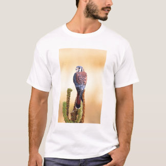 Kestrel, Falco sparverius, Native to US & Canada T-Shirt