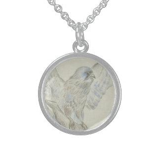 kestrel round pendant necklace