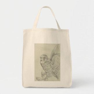 kestrel sketch Tote bag