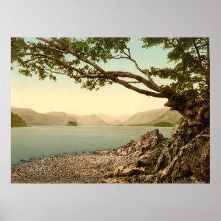 Keswick I, Derwentwater, distrito del lago, Inglat Impresiones