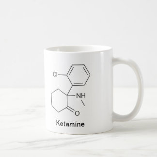 Ketamine y morfina taza clásica