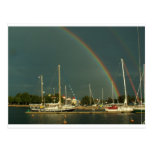Ketch and Rainbow Postcards