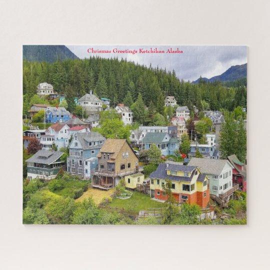 Ketchikan Alaska Jigsaw Puzzle | Zazzle.com