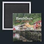"Ketchikan Alaska Travel Souvenir Fridge Magnets<br><div class=""desc"">Fridge magnet pictures Ketchikan,  Alaska.</div>"