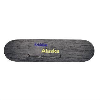Ketchikan Alaska whale skateboard