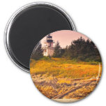 Ketchikan Lighthouse 2 Inch Round Magnet