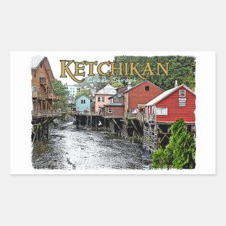 Ketchikan Rectangular Sticker