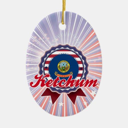 Ketchum, ID Ornaments