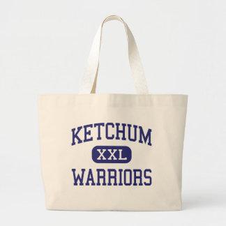 Ketchum Warriors Middle Ketchum Oklahoma Large Tote Bag