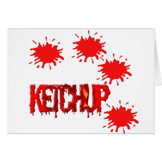 ketchup_8 greeting cards